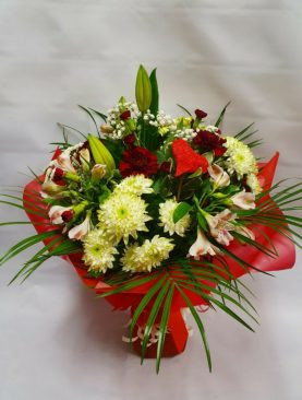 Mixed Flowers - Valentines Day Bouquet